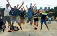 SIFP Fellows jump for joy in the City of Brotherly Love (Philadelphia)